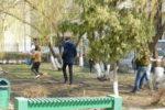 Работники ОБУ «Центр кадастровой оценки» приняли участие в субботнике