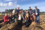 Сотрудники ОБУ «Центр кадастровой оценки» приняли участие в кампании по посадке леса — «Сохраним лес»